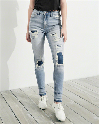 Джинсы Super Skinny Hollister, 26/30, 26/30